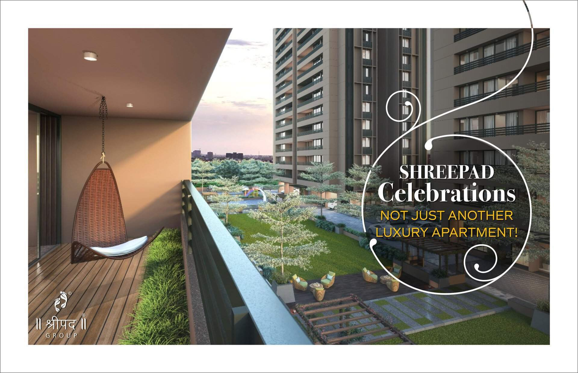 Shreepad Celebrations – Not just another Luxury Apartment!