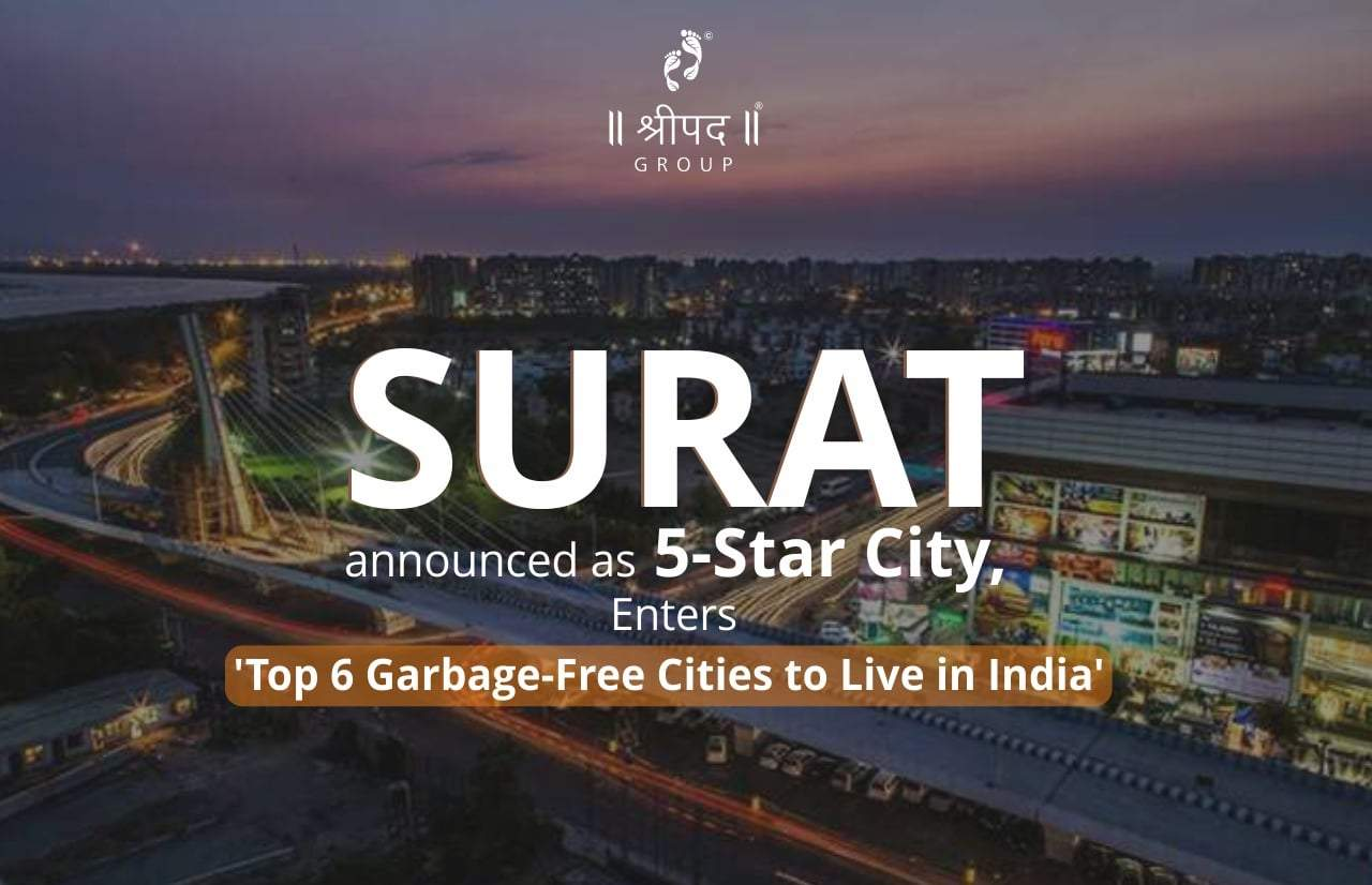 Surat announced as 5-Star City, Enters 'Top 6 Garbage-Free Cities to Live in India'